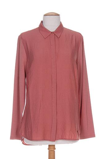 gina laura chemises femme de couleur rose