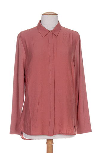 Chemisier manches longues rose GINA LAURA pour femme