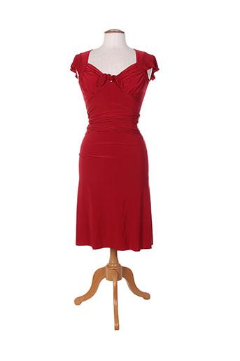 barbarella robes femme de couleur rouge