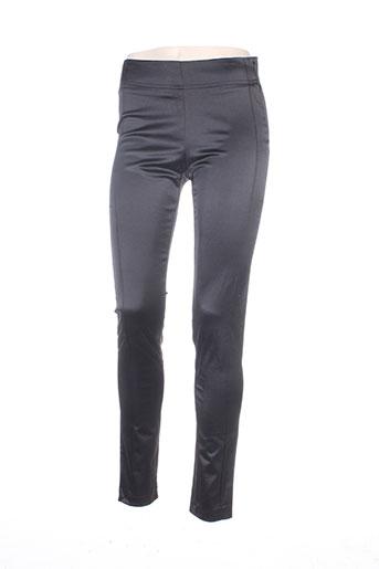 Pantalon chic noir MISS CAPTAIN pour femme