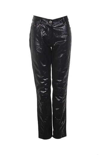 huit six sept pantalons femme de couleur noir