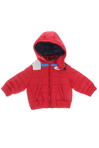 lee manteaux garçon de couleur rouge