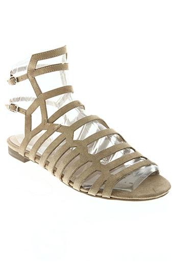 parfois chaussures femme de couleur beige