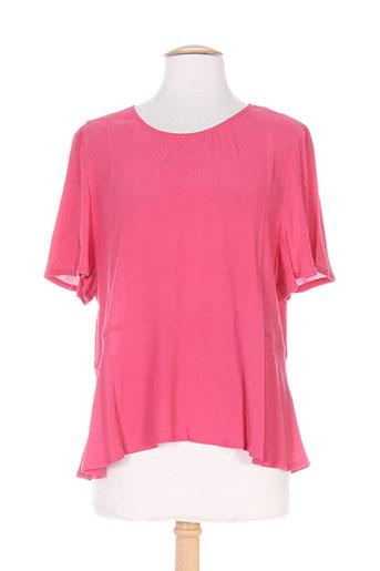 american vintage chemises femme de couleur rose