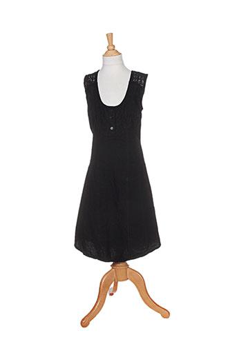 la cotonnière robes femme de couleur noir
