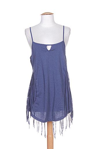 blend she chemises femme de couleur bleu