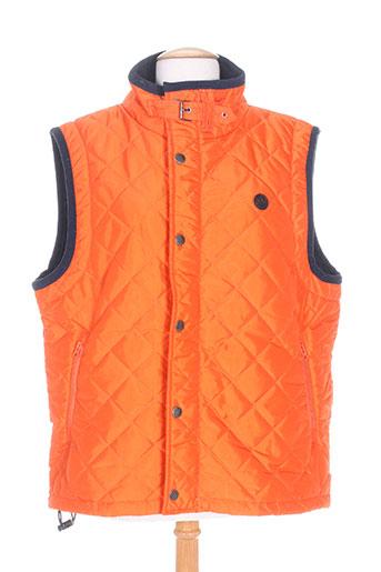 harper&flint manteaux homme de couleur orange