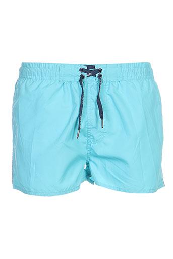 losan maillots de bain homme de couleur bleu