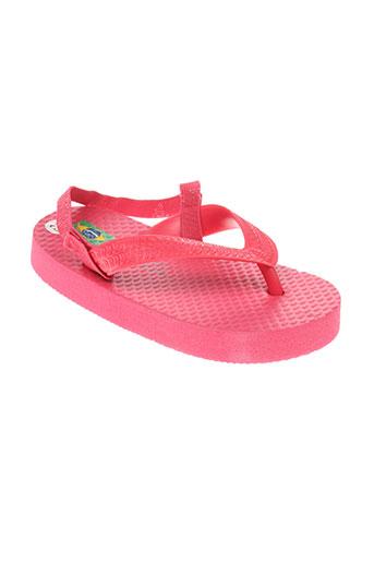 mora mora chaussures fille de couleur rose