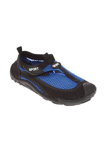 sport chaussures garçon de couleur bleu
