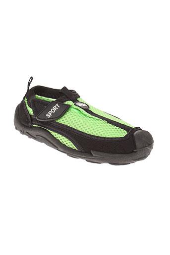 sport chaussures garçon de couleur vert