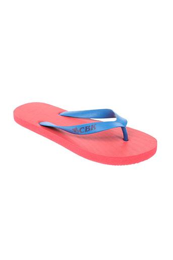cbk chaussures homme de couleur rouge