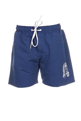 week end a la mer maillots de bain garçon de couleur bleu