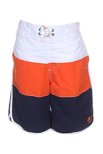 mondaca maillots de bain garçon de couleur orange
