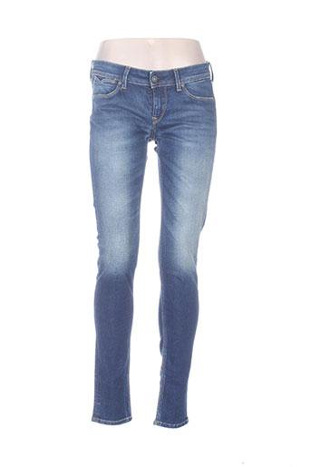 pepe jeans jeans femme de couleur bleu