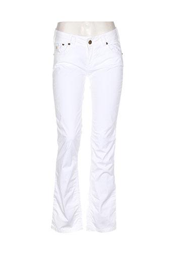 lois jeans femme de couleur blanc