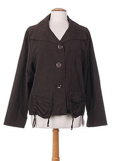 Veste casual marron OLIVER JUNG pour femme