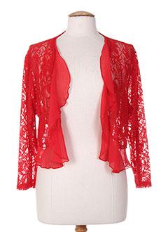 Veste casual rouge OLIVER JUNG pour femme