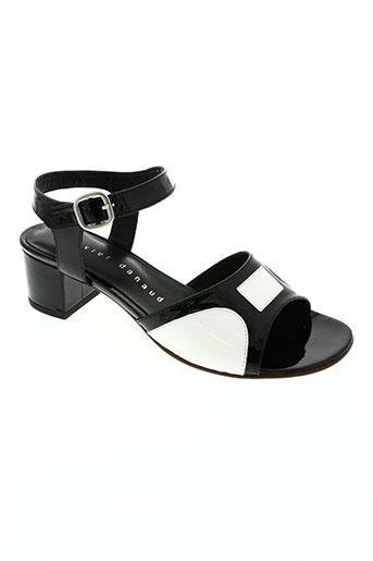 xavier danaud chaussures femme de couleur noir