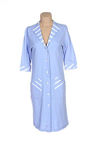 massana nuit femme de couleur bleu