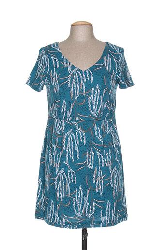 white stuff robes femme de couleur bleu