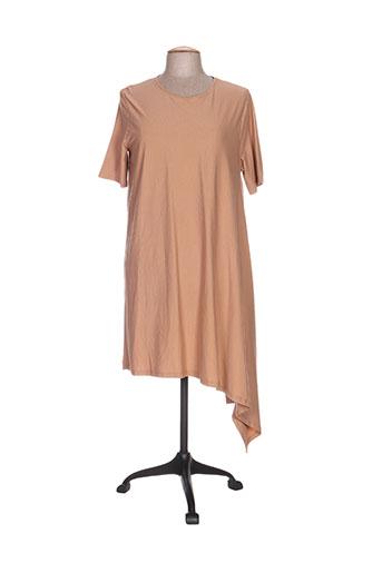 think chic robes femme de couleur marron