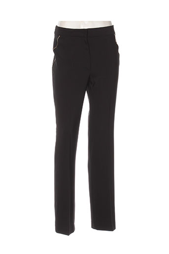 ellebeline pantalons femme de couleur noir