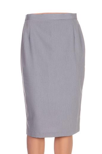 quattro jupes femme de couleur gris