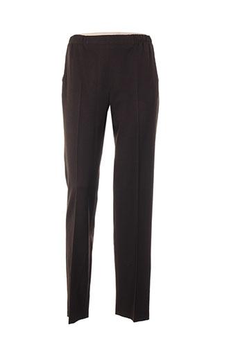quattro pantalons femme de couleur marron