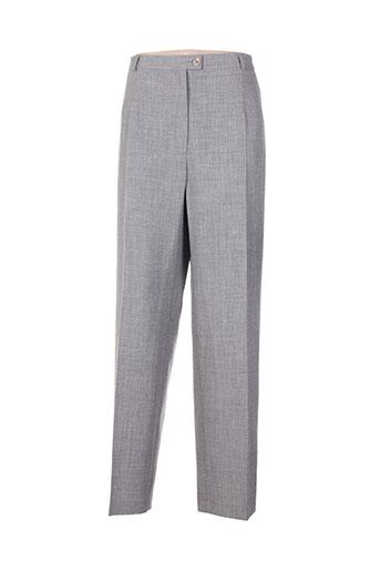 quattro pantalons femme de couleur gris