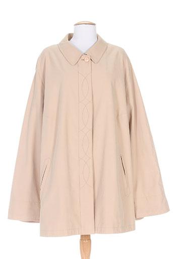 best of basics manteaux femme de couleur beige