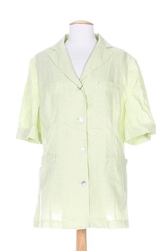 Veste chic / Blazer vert ADOLFO DOMINGUEZ pour femme