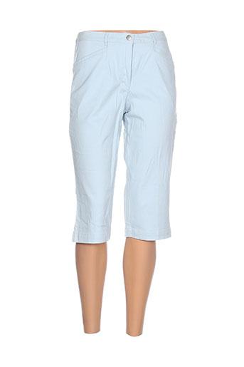 gerard matel shorts / bermudas femme de couleur bleu