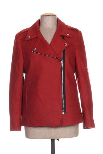 janis EFFI_CHAR_1 john manteaux femme de couleur marron