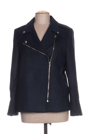 janis EFFI_CHAR_1 john manteaux femme de couleur bleu