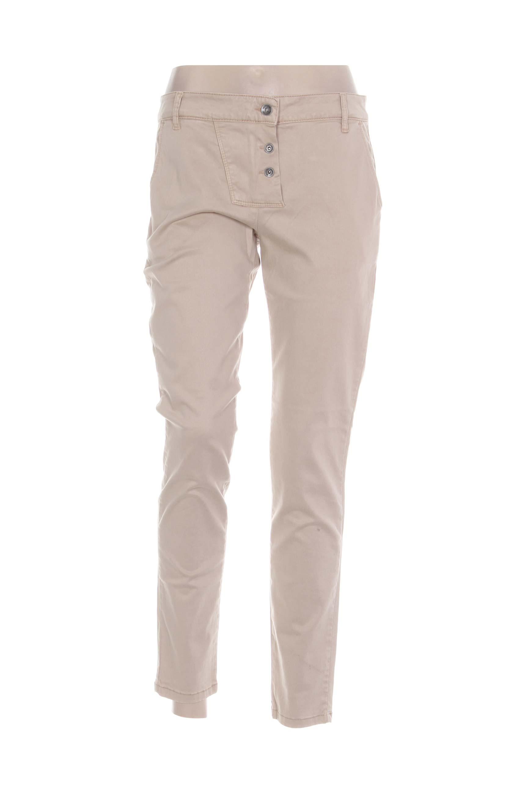 Pantalon casual femme Couturist beige taille : W31 11 FR (FR)