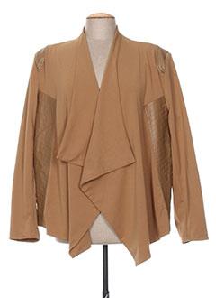 Veste chic / Blazer marron H-3 pour femme