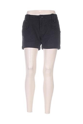 medi mode shorts / bermudas femme de couleur noir
