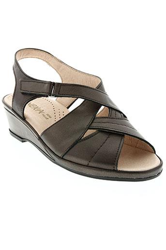 benexa chaussures femme de couleur marron