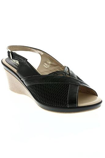 lucy style chaussures femme de couleur noir