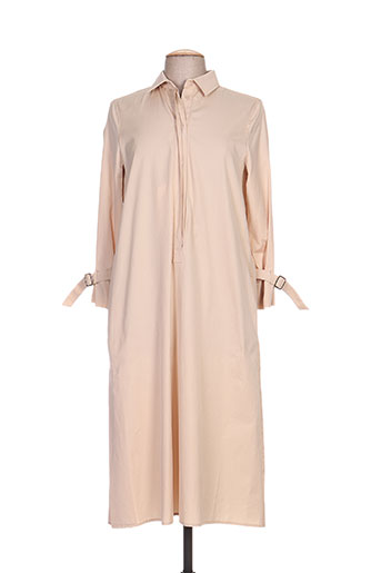 maxmara robes femme de couleur blanc