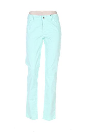 sportmax pantalons femme de couleur vert