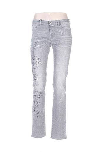 maxmara jeans femme de couleur gris