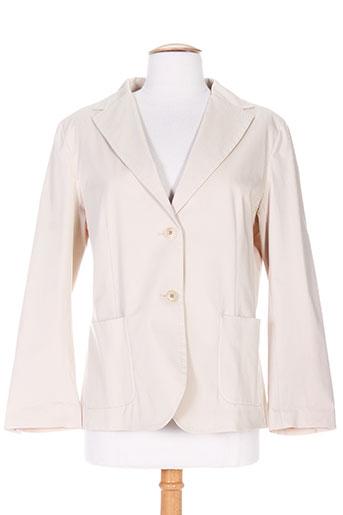maxmara vestes femme de couleur beige