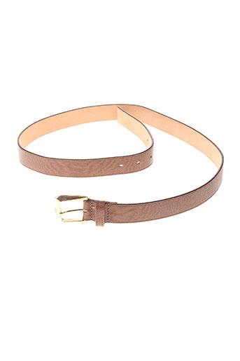 maxmara accessoires femme de couleur marron