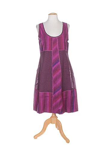 malia b robes femme de couleur violet
