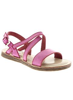 Sandales/Nu pieds rose DELIRES DE FILLE pour femme