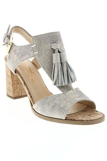 rosemetal chaussures femme de couleur gris