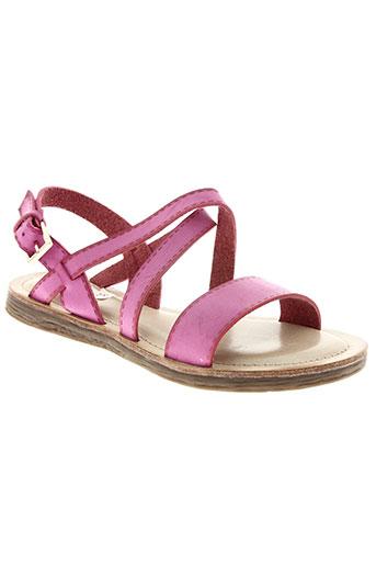 delires de fille chaussures femme de couleur rose