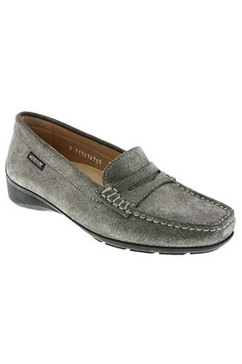 mephisto chaussures femme de couleur gris